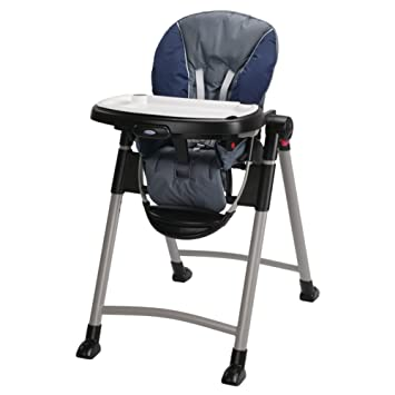 Good Graco Contempo High Chair, Midnight