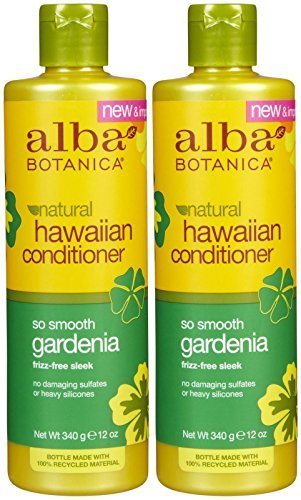 - Alba Botanica Hawaiian Hydrating Hair Conditioner, Gardenia, 12 oz, 2 pk