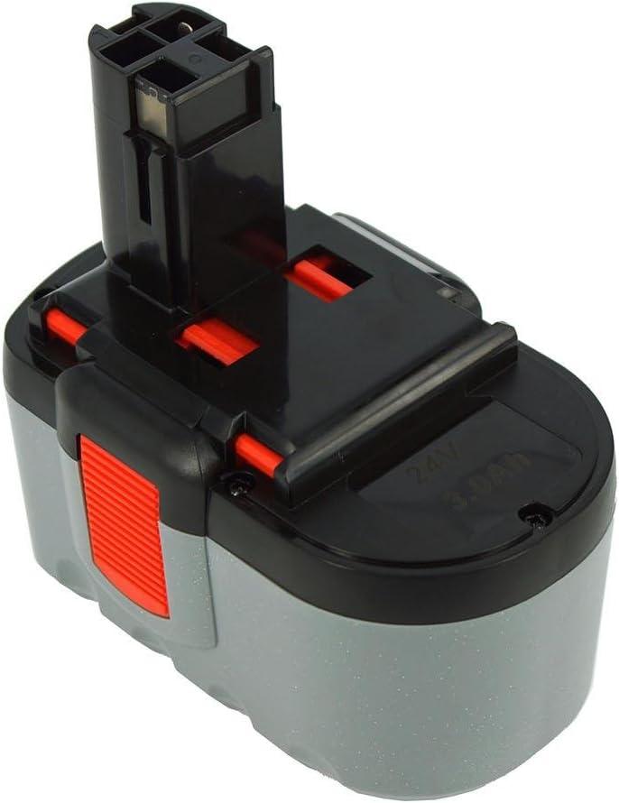 Power Smart® 3000mAh 24V NiMH batería para Bosch GBH 24V PROFESSIONAL, GBH 24VF, GSH 24V, GBH24V, GBH24VF, GSH24V, GBH 24V, GBH de 24V, GBH 24VF, GSH 24V