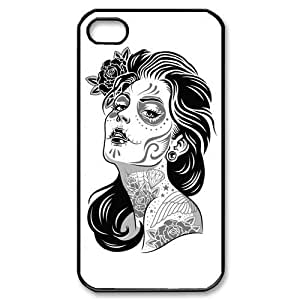 Custom Your Own Personalised Gothic Girl Iphone 4/4S Best Durable Hard Cover Case