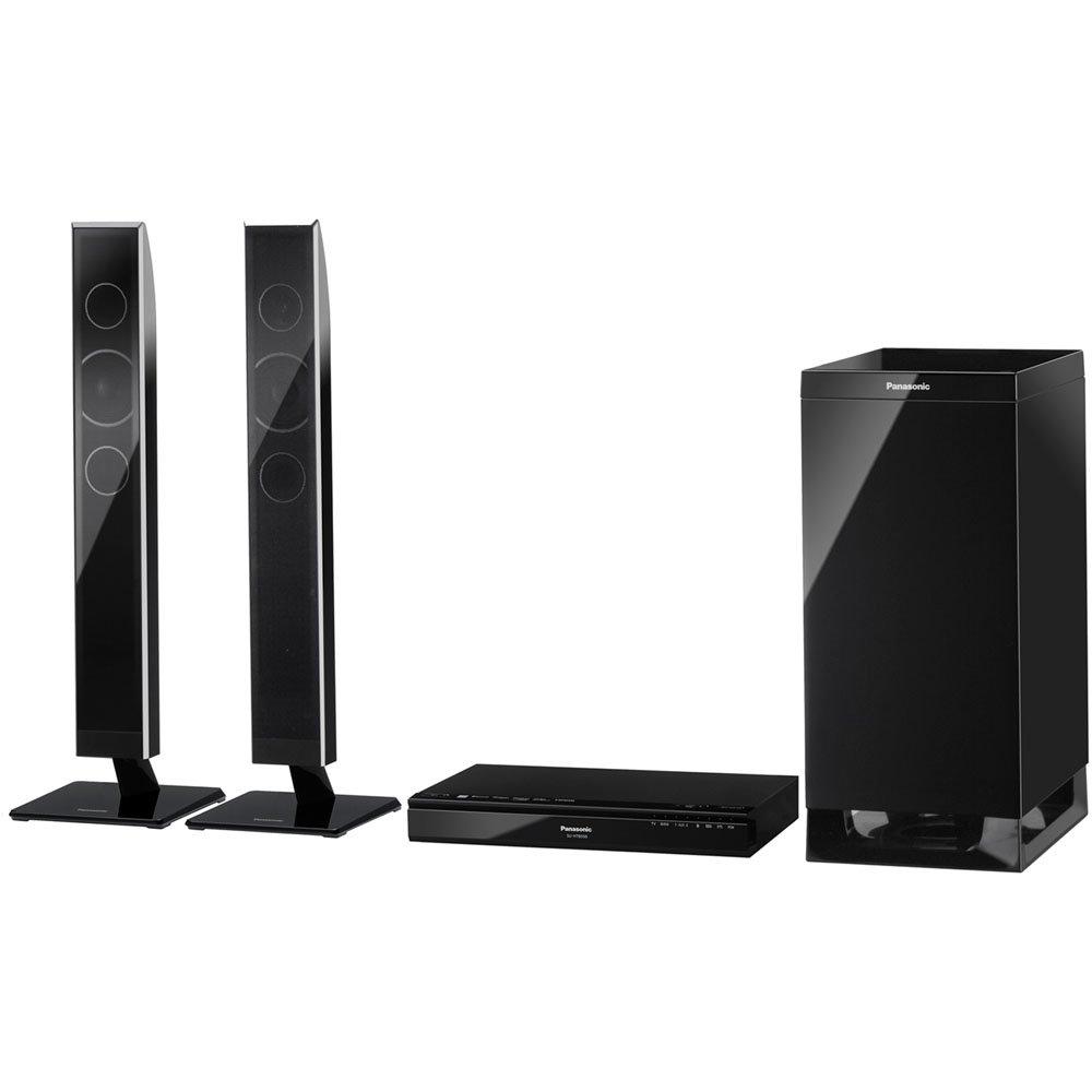 Panasonic SC-HTB550 Alámbrico 2.1 240W Negro altavoz soundbar - Barra de sonido (2.1 canales, 240 W, Dolby Digital,Dolby Pro Logic II,DTS, 120 W, 6 Ω, ...