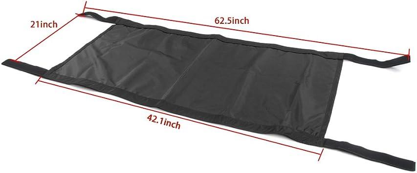 Black TJ JK /& JKU JL 1987-2020 4//2-Door Waterproof Car Bed Rest Hammock Bosmutus Car Roof Hammock for J-eep Wrangler YJ