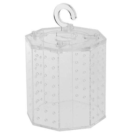 FLAMEER Jaula Caja Terrario Material Acrílico Transparente Araña ...