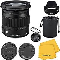 Sigma 17-70mm f/2.8-4 DC Macro OS HSM CT Lens Kit for Canon 70D, 7D, T3, T3i, T4i, T5i, 60D, DSLR Cameras