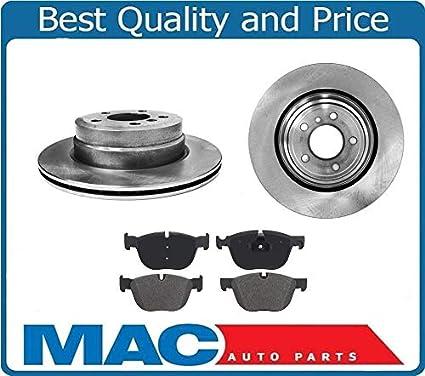 Amazon.com: Mac Auto Parts 136682 1.340 34360 BR (2) Rear 3MM 5/8 Disc Brake Rotors & Pads: Automotive
