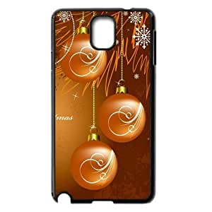 Classic Case Happy Christmas CARDS - Christmas balls pattern design For Samsung Galaxy Note 3 N9000 Phone Case