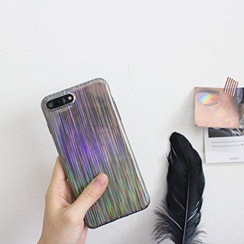Bangcool Estuche IPhone X Caja del Teléfono Glitter Cubierta Protectora Creativa del Teléfono para IPhone 6 IPhone 6s IPhone 6 Plus IPhone 6s Plus IPhone 7 IPhone 8 IPhone 7 Plus IPhone 8 Plus IPhone  iPhone 6 / iPhone 6s