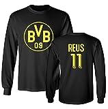 Tcamp Borussia Dortmund Shirt Marco Reus #11 Jersey Men's Long Sleeve T-shirt