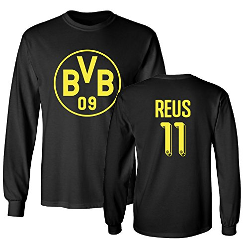Tcamp Borussia Dortmund Shirt Marco Reus #11 Jersey Men's Long Sleeve T-shirt