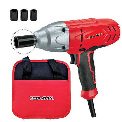 Toolman 1 2 6.0A 3200RPM 320N.m Torque Impact Wrench For Heavy Duty DB2601