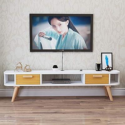 QuRRong Mueble para Televisor Muebles De Almacenamiento For La Cabina Moderna Corta De TV Sala Gabinete De La TV Viva For Almacenar Su Proyecto para Sala de Estar Oficina: Amazon.es: Hogar