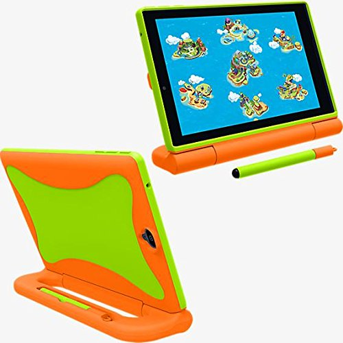 GizmoTab Verizon OEM Kids Case - Orange / Green