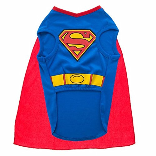 DC Comics Halloween Superman Dog Costume - x small