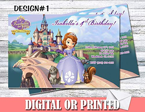 Sofia The First Personalized Birthday Invitations More Designs Inside!]()