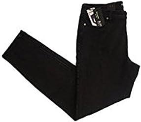 Buffalo David Bitton Womens Mid-rise Skinny Black Jeans