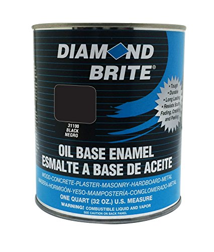 diamond-brite-paint-31100-1-quart-oil-base-all-purpose-enamel-paint-black