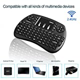 GooBang Doo 2.4GHz Multi-media Portable Wireless Handheld Mini Keyboard with Touchpad Mouse for XBox 360, PC, PAD, PS3, Google Android TV Box, HTPC