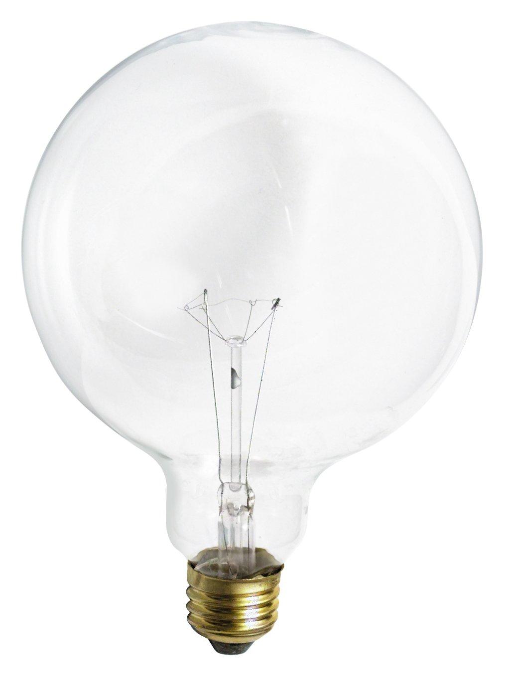 Satco S3013 120-Volt 100-Watt G40 Medium Base Light Bulb CLEAR Box of 6 - ..#G4E435T1 34452-3T672946