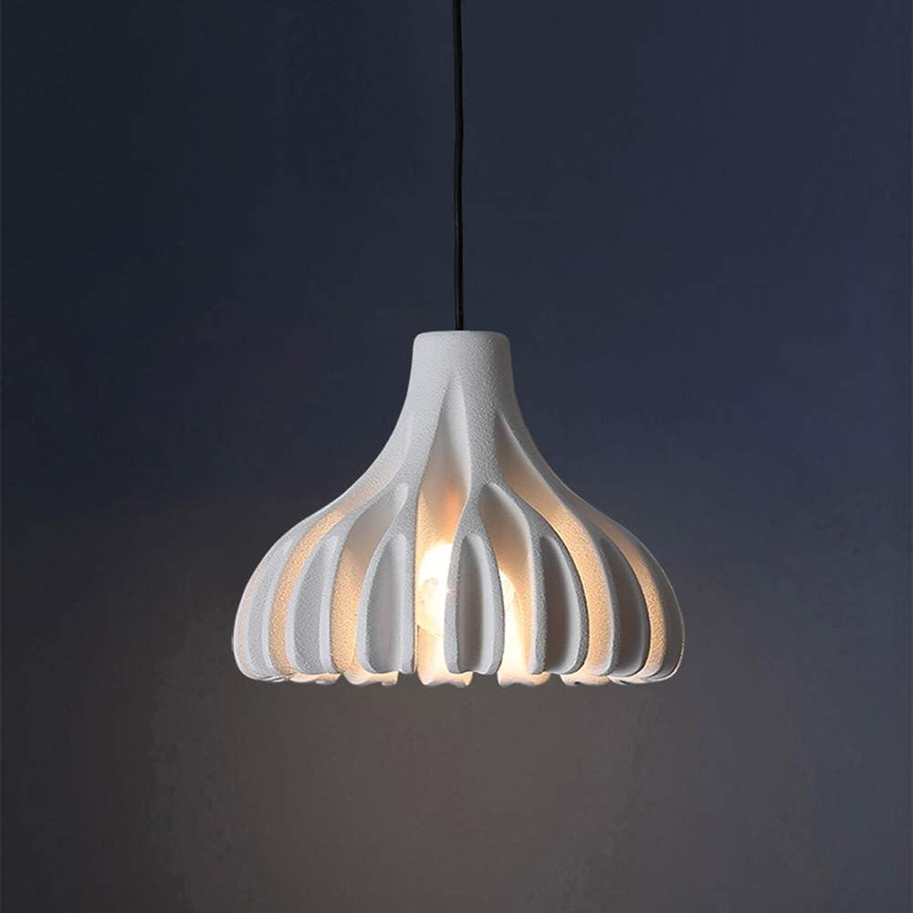 Moderno Creativo Lámpara colgante,Ajustable en altura Lámpara de mesa de comedor,Coral Diseño Colgante de luz,Resina Cuerpo de la lámpara,Isla de cocinas Dormitorio Decorativo Luces colgantes,Blanco
