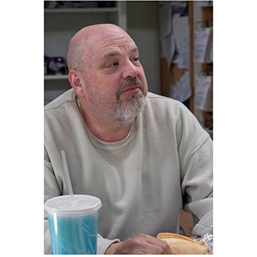 Justified Pruitt Taylor Vince as Glen Fogle Seated Looking Up 8 x 10 Inch Photo