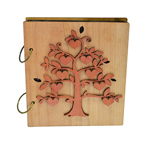 Giftgarden 4x6 Family Tree Photo Album 120 Pockets Photo Book for 4 x 6 inch Picture - 6 X 6 Scrapbook Albums