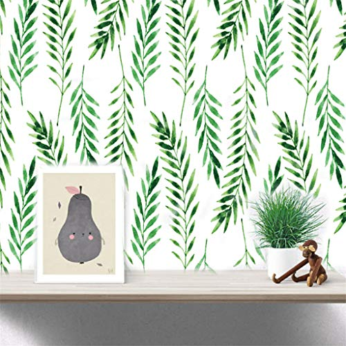 (Emptystar Wall Stickes - Nordic Fresh Style Forest Birds Wall Stickers Waterproof Wall Paper for TV Background Decor Mural Art Decal Home Decor 14.8x21cm/5.8x8.3'')