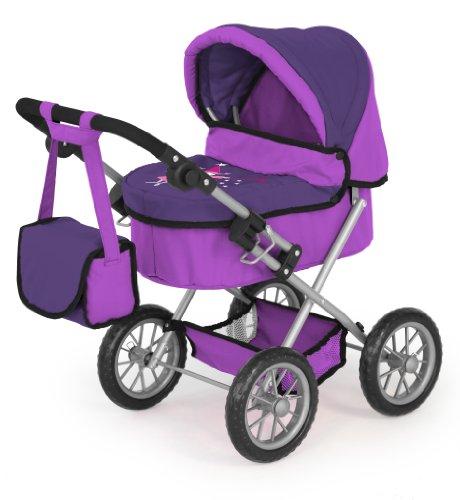 Bayer Design 1301200 - Puppenwagen Trendy lila