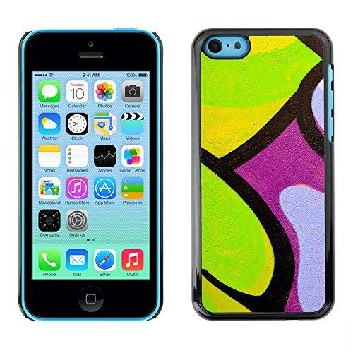 Premio Sottile Slim Cassa Custodia Case Cover Shell // V00002301 Graffiti // Apple iPhone 5C