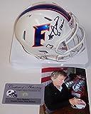 Steve Spurrier Autographed Hand Signed Florida Gators Speed Mini Helmet - PSA/DNA