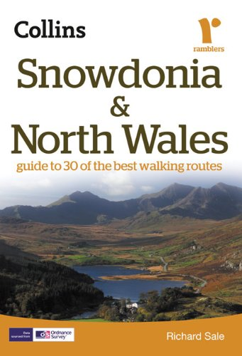 Snowdonia and North Wales: Guide to 30 of the Best Walking Routes (Collins Ramblers Guides) (Best Walks In North Wales)