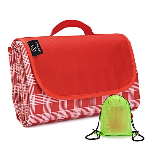REDCAMP Outdoor Picnic Blanket Waterproof Extra Large - 79