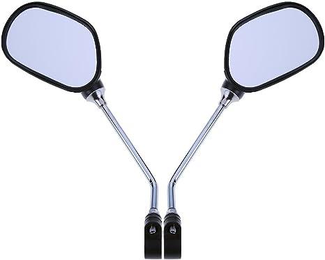 YouN 1 par de espejos retrovisores para manillar de bicicleta de ...