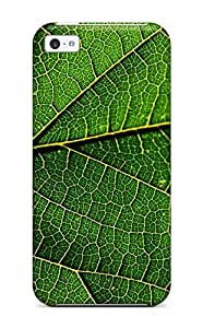 Defender Case For Iphone 5c, Just Like This Leaf There Are Many Paths To Take Pattern