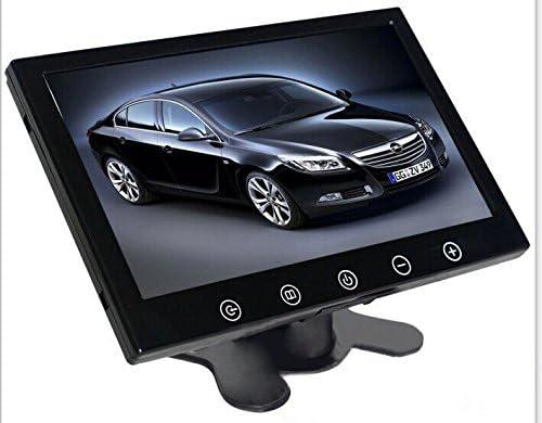 Coche Estilo 9 pulgadas pantalla TFT pantalla LCD Auto Monitor de coche Monitor pantalla para marcha atrás copia de seguridad cámara de visión trasera de copia de seguridad para coche TV pantalla: