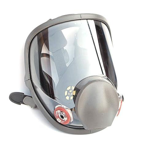 WEISHAZI kit de respirador facial de cara completa, máscara de gas de silicona para pintar