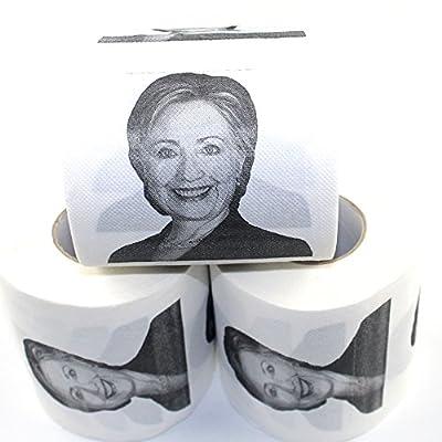 Hillary Clinton Toilet Paper, Novelty Political Gag Gift (3)