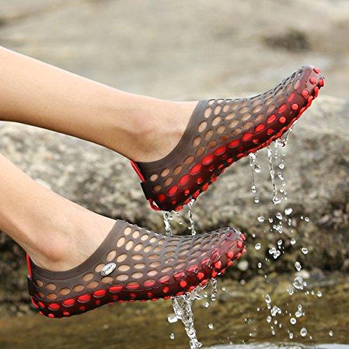 Summer Black Drying Shoes Water Shoes Sandals Breathable Slip Mens on Quick Womens Beach Aqua katliu Beach qw74n1