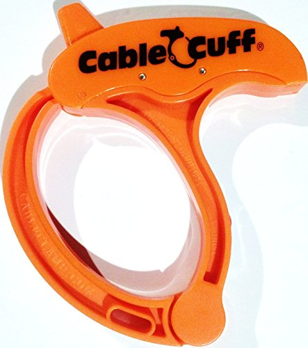 Large 4 inch Cable Cuff. Adjustable, Reusable Cable Clamp (Single Cuff)