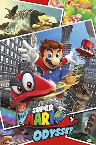 Super Mario Odyssey Video Gaming Poster