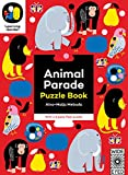 Animal Parade: Puzzle Book - With a 6 piece floor puzzle! (The Learning Garden)