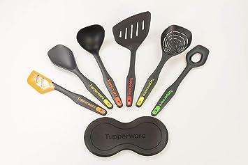 Tupperware - Cuchara para servir espuma, batidora, espátula y ...