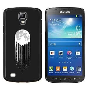Eason Shop / Premium SLIM PC / Aliminium Casa Carcasa Funda Case Bandera Cover - Luces de la ciudad Rascacielos Noche de gran altura - For Samsung Galaxy S4 Active i9295