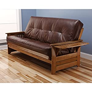 Kodiak Furniture Phoenix Full Size Futon in Barbados Finish