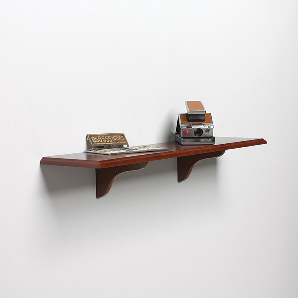 Cherry 8-Inch by 36-Inch Knape /& Vogt Shelf-Made 0137-836CHY Decorative Edge Wood Shelf