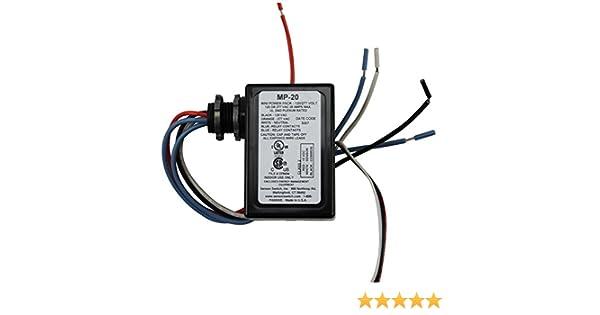 amazon com sensor switch mp 20 120 277v 20a power pack for rh amazon com