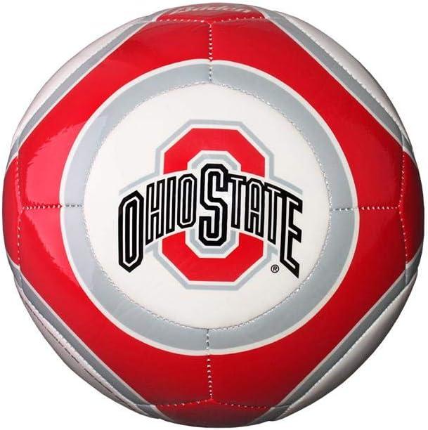 Ohio State Buckeyes NCAA Official Size High Gloss Soccer Ball /…