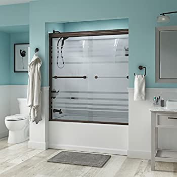 Delta Shower Doors Sd3276656 Trinsic 60 Quot Semi Frameless