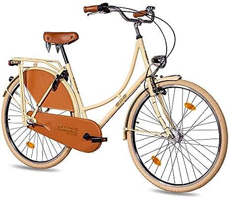Bicicleta urbana KCP de 28 pulgadas para mujer, con cambio de buje Shimano Nexus de 3 velocidades, dinamo de buje Shimano Shimano de buje y freno de contrapedal: Amazon.es: Deportes y aire