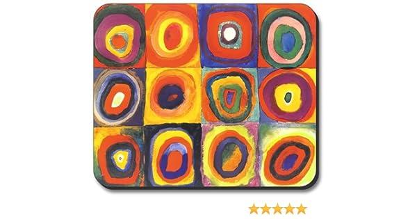 Single Gang Toggle Switch Plate Kandinsky Art Plates Farbstudie Quadrate S578