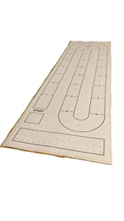 Large 29 Cribbage Board Hole Pattern Template Amazon Com